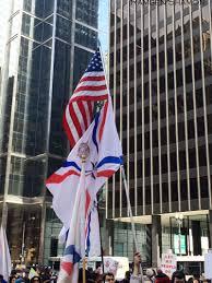 Chaldean Flag Chicagoans Demand Action For Oppressed In Iraq And Syria U2014 Ramsen
