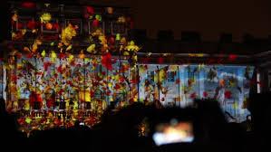 3d light show russia saint petersburg november 5 2016 3d mapping the light