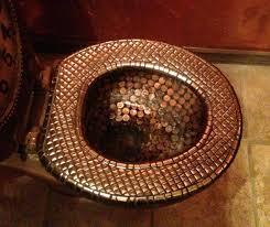 Bathroom Floor Pennies Numismatic Home Renovation Coin Talk