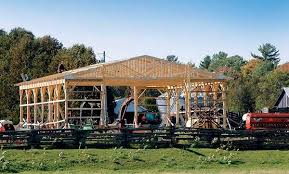 How To Build A Shed Out Of Scrap Wood by 153 Pole Barn Plans And Designs That You Can Actually Build