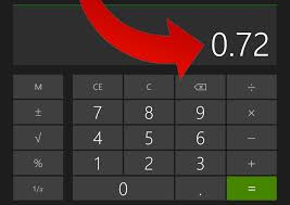 percent to decimal how to convert a percentage to decimal form with a calculator