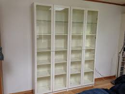 White Bookcase With Doors Ikea Bookshelves With Glass Doors White Ikea Billy Bookshelf Ikea