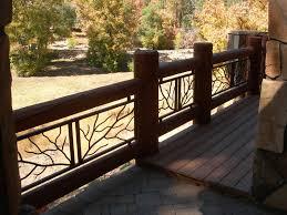 decorative deck railings