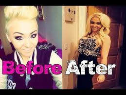 pixie to long hair extensions how to put in extensions in really short or shaved hair tutorial