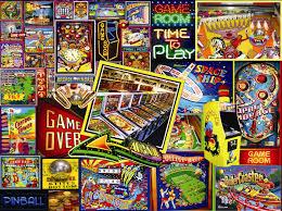 pinball wizard u003cbr u003e 1000 piece puzzle u003cbr u003e lois sutton u003cbr