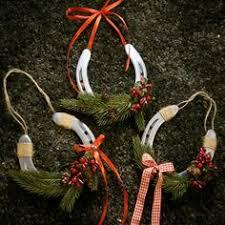 horseshoe ornaments 27 beautiful and creative christmas horseshoe ornaments ornament