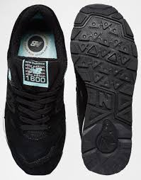 Comfortable New Balance Shoes New Balance 1600 Suede Black White Women Shoes