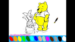 winnie the pooh coloring pages for kids winnie the pooh coloring