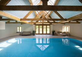 Small Indoor Pools In Ground Swimming Pool Stone Mosaic Indoor Hampshire
