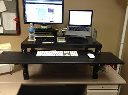 everybody stand up my take on the ikea hack stand up desk cool