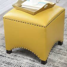 Yellow Ottoman Storage Sofa Small Ottoman Recliner With Ottoman Gold Ottoman