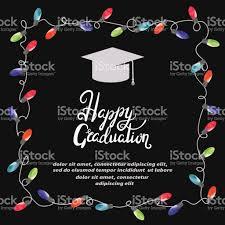 Invitation Card Graduation Graduation Party Invitation Card Stock Vector Art 678221646 Istock
