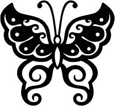 butterfly ornaments decor free dxf files cut ready cnc designs