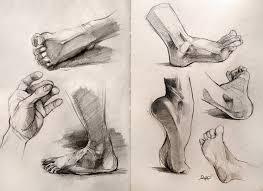 anatomy foot studies by yolque on deviantart halp pinterest