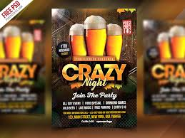party flyer free free club party flyer psd template psdfreebies com