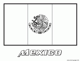 mexican flag coloring page itgod me