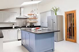 Light Colored Kitchen Cabinets Light Gray Shaker Kitchen Cabinets Home Design Ideas
