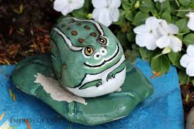 Painting Rocks For Garden How To Paint Garden Rocks And Stones Empress Of Dirt