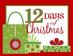 the 12 days of christmas 12 days of christmas cookies lilaloa 12