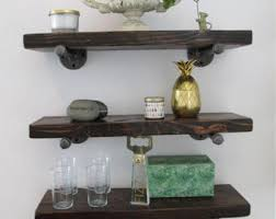 Reclaimed Wood Floating Shelves by Industrial Wall Unit Reclaimed Wood Shelves Wood