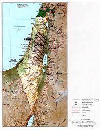 Florida Political Map by Maps Of Israel Detailed Map Of Israel In English Tourist Map