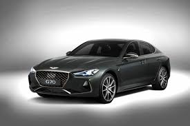 compact sports cars genesis g70 officially revealed as a handsome bmw 3 series