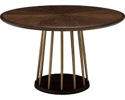 Round Dining Table With Hidden Chairs Dining Tables Wood Dining Tables Thomasville Furniture