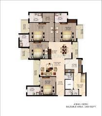 450 sq ft apartment 2 bhk 1435 sq ft apartment for sale in imperia esfera at rs