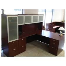 l shaped desk with hutch right return hon l shaped desk damescaucus com