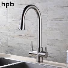 cuisine chaude dgps brossé nickel fini 3 voies robinet de cuisine filtre à eau du