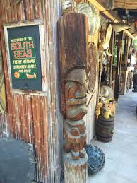 decorations from the fabulous rincon trading post home tiki bar