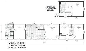 3 Bedroom 2 Bath Mobile Home Floor Plans 3 Bedroom 2 Bath Single Wide Mobile Home Floor Plans Amazing