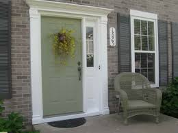 Painting Exterior Door Painting Exterior Door With