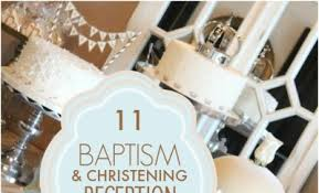 White And Gold Baptism Decorations 11 Baptism And Christening Reception Party Ideas Spaceships And