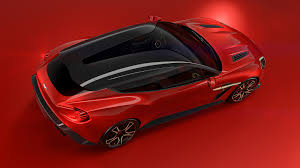 aston martin vanquish red aston martin vanquish zagato shooting brake revealed in all its