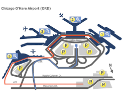 chicago o hare terminal map chicago o hare airport ord terminal maps map of all terminals