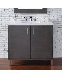 36 Bathroom Vanity With Granite Top by Bargains On Orren Ellis Cordie 36 U0027 U0027 Single Silver Oak Granite Top