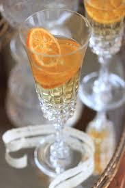 clementine champagne cocktail variety pinterest