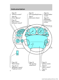 ford contour 1999 2 g owners manual