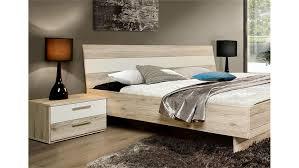 Schlafzimmer Bett Sandeiche Valerie Schlafzimmer In Sandeiche Weiß