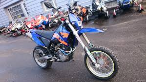 ktm 640 lc4 supermoto blue 650 cm 2005 oulu motorcycle