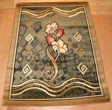 Turkish Area Rugs Green Modern Carved Floral Rug Turkish Area Rugs Is Importer