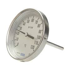 Jual Thermometer Wika bimetal thermometer wika a52 100 3904180 automation24