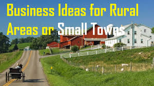 25 of the most profitable businesses ideas for small towns and