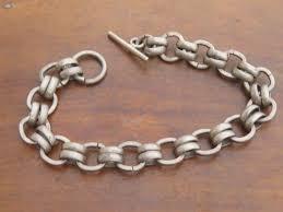 silver link bracelet charms images 324 best vintage charms bracelet chains images jpg