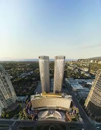 new renderings of the 1966 century plaza hotel u0027s redevelopment