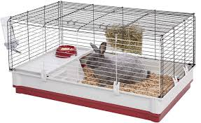 Extra Large Rabbit Cage Midwest Wabbitat Deluxe Rabbit Home 39 5 Inch Chewy Com