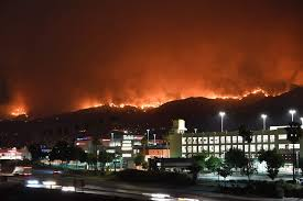 Glendora Wildfire Map by La Tuna Canyon Fire Prompts Mandatory Evacuations In Burbank