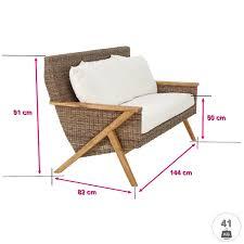 meuble en rotin pour veranda salon en rotin pour véranda girona salon en rotin intérieur