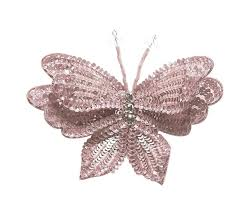 butterfly hair clip tutu du monde enchanted butterfly hair clip in blush for rent